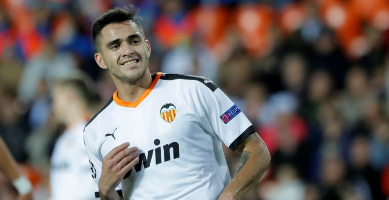 Gómez matchwinner voor Valencia tegen laagvlieger Eibar