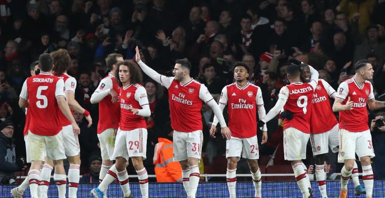 Leeds United dwingt respect af bij Arsenal, maar is toch uitgeschakeld