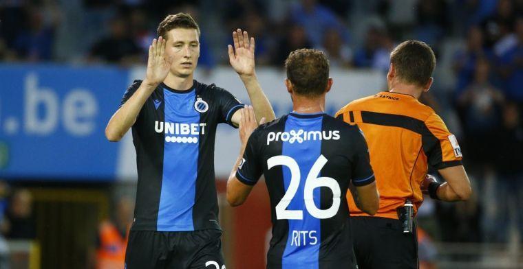 Sinds invoering van de Play-Offs staat Club Brugge het langst aan de leiding