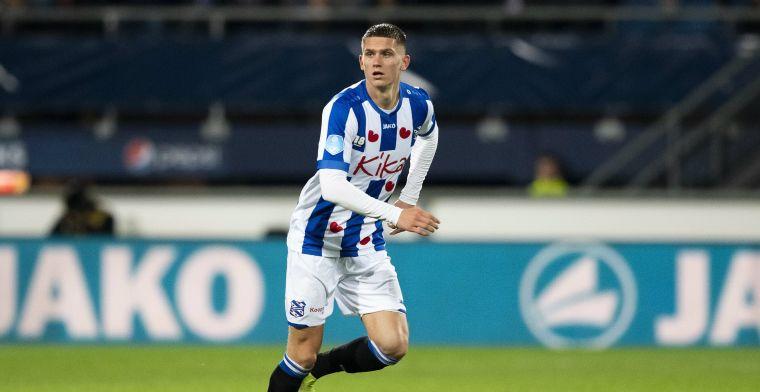 Heerenveen wijst op deal met Ajax: Verder kan ik er niks over zeggen