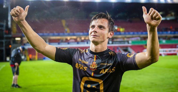 Vanzeir niet aan het feest bij KV Mechelen: Ik had op meer gehoopt