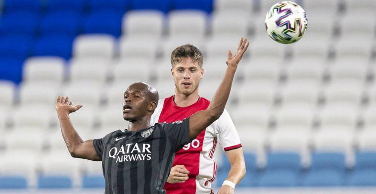Pierie in 'Ajax B': 'Maar uiteindelijk beter, vertrouwen in het plan van de club'