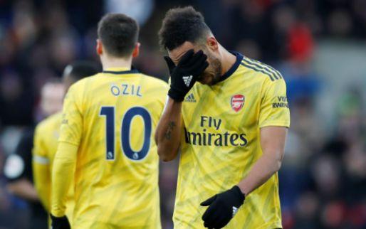 Afbeelding: Rode kaart scorende Aubameyang nekt Arsenal: puntverlies bij Crystal Palace