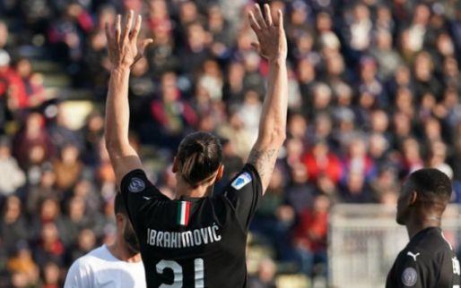 Afbeelding: Oude AC Milan-tijden herleven op Sardinië: zege, goal 'basisdebutant' Ibrahimovic