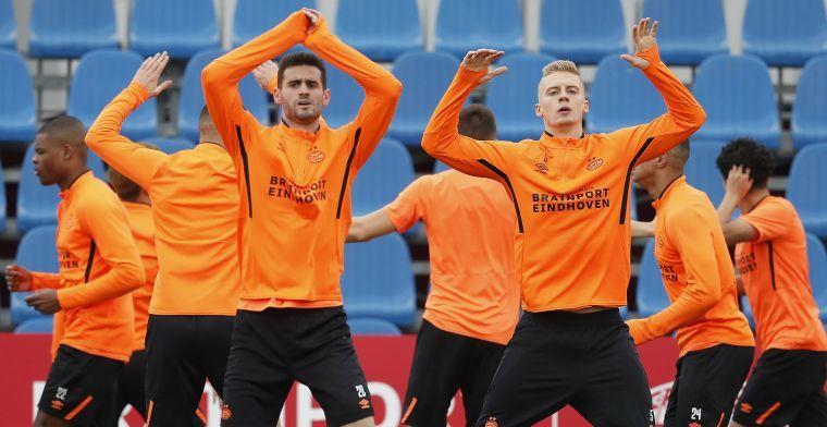 PSV bevestigt 'aantrekkelijk bod' op Pereiro uit de Verenigde Staten