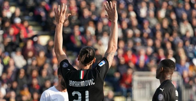 Oude AC Milan-tijden herleven op Sardinië: zege, goal 'basisdebutant' Ibrahimovic