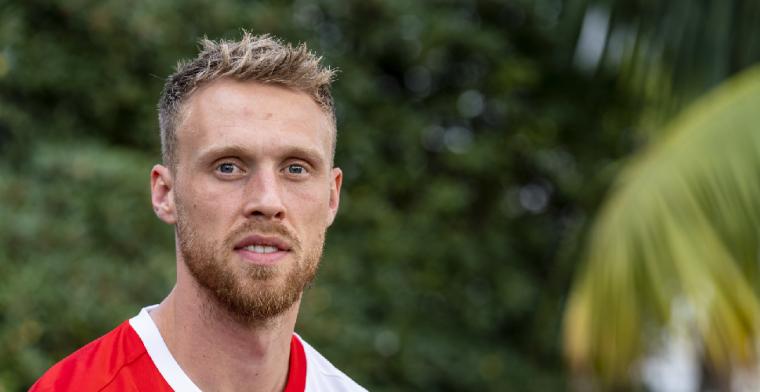 Eerlijke Jörgensen: 'Ik begrijp het als Feyenoord een nieuwe spits koopt'