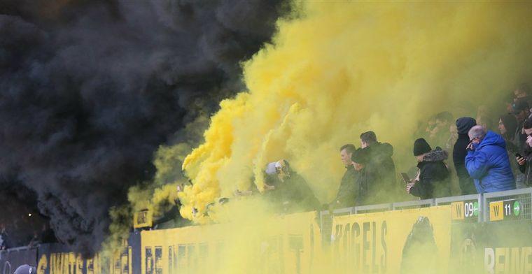 Roda plaatst statement na stilgelegde derby: 'Veiligheid ook zaak van de fans'
