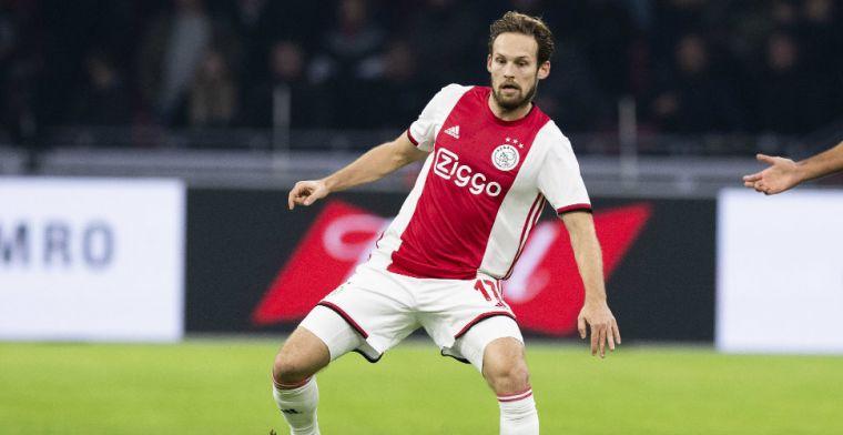Gretige Blind 'on hold' bij Ajax: 'Hij is niet te houden, hij wil het veld op'