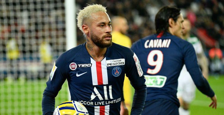 PSG verspeelt punten na spektakelstuk met zes goals tegen AS Monaco