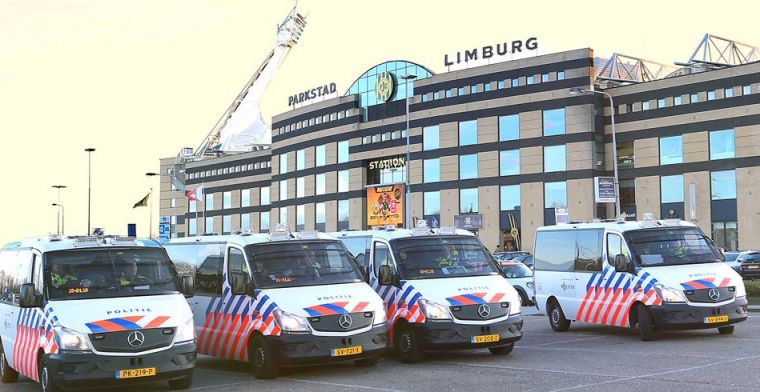 Limburgse derby twee keer stilgelegd na misdragingen van Roda-supporters