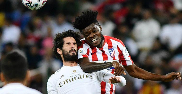 Atlético Madrid mist twee penalty's en moet Supercopa aan Real Madrid laten