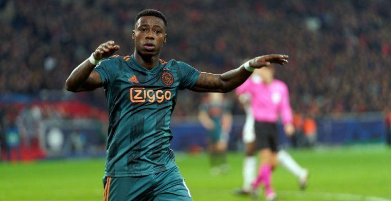 Promes 'groot fan' van jonge Ajax-ploeggenoot: 'Kwaliteiten die we nodig hebben'