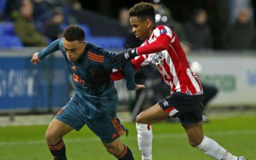 Afbeelding: Jong Ajax loopt koppositie mis tegen Jong PSV met Dest in basis, Jong AZ wint wel
