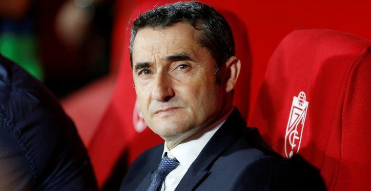 'Valverde krijgt ontslag na lange vergadering en pakt zijn spullen bij Barcelona'