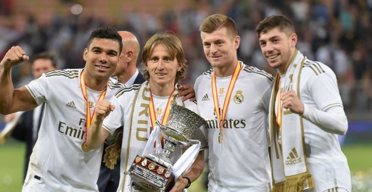 Real Madrid-voorzitter Pérez na sterk optreden Valverde: 'Weet niet wie Pogba is'