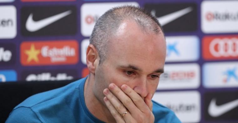 Iniesta noemt handelswijze Barça lelijk en pijnlijk: 'Voor trainer en club'