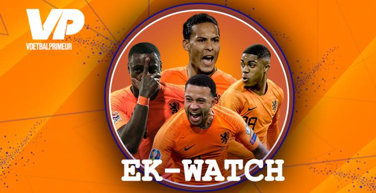 EK-watch: indrukwekkende statistiek Van Dijk, De Ligt-koers stijgt, geen Frenkie