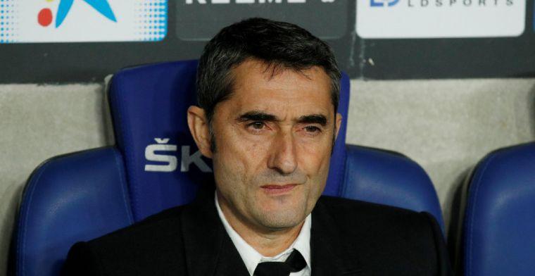'Valverde bezig aan laatste uren bij Barça, coach arriveert vroeg op de club'