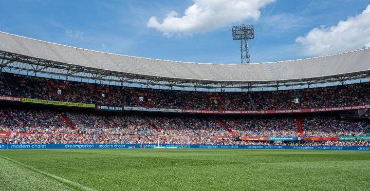 Boze Feyenoord-fans nemen met spandoeken stelling in machtsstrijd