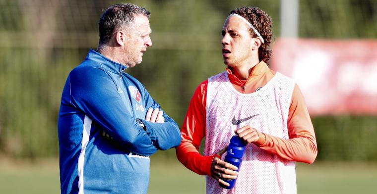 'Ik ben goed ontvangen bij FC Twente en heb het eigenlijk al naar m'n zin'