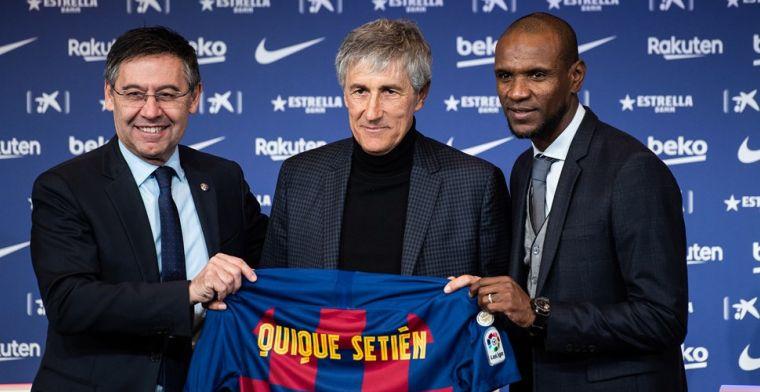Setién dolgelukkig: 'Gisteren stond ik nog tussen de koeien, nu coach van Barça'