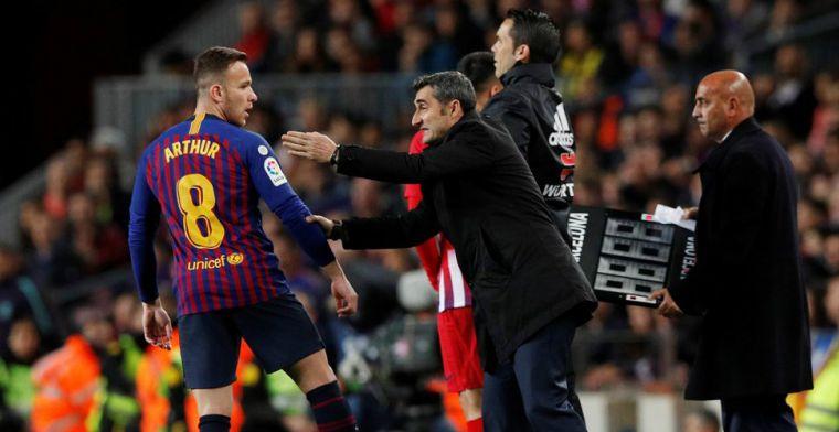 'Valverde diep teleurgesteld in Arthur: verjaardag Neymar, overgewicht na Kerst'