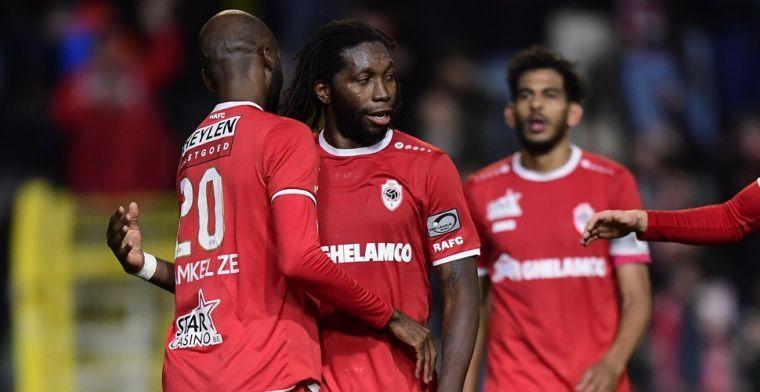 """Antwerp evolueert door Mbokani: """"Dat toont aan hoezeer de club verrezen is"""""""