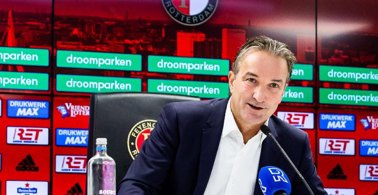 'We gaan alles op alles zetten om een spits naar Feyenoord te halen'