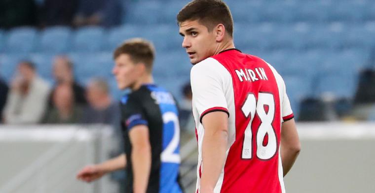 'Ajax veegt eerste bod van Club Brugge op Marin van tafel'