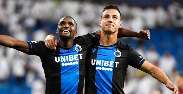 Kanonskogel Clinton Mata (Club Brugge) wint mooiste doelpunt