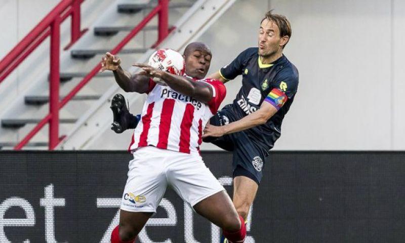 Afbeelding: Dordrecht vindt nieuwe spits in Oss: centrumverdediger wordt nieuwe aanvalsleider