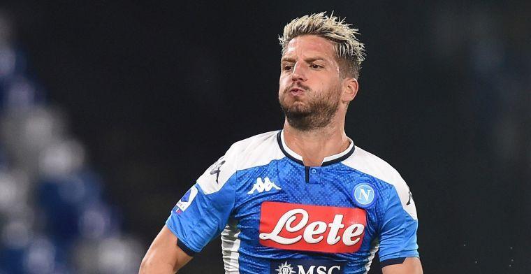 UPDATE: 'Napoli bevestigt slecht nieuws voor Mertens'
