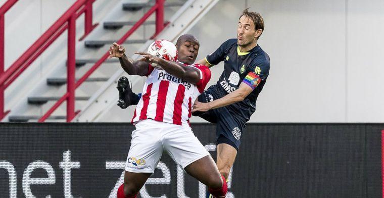 Dordrecht vindt nieuwe spits in Oss: centrumverdediger wordt nieuwe aanvalsleider