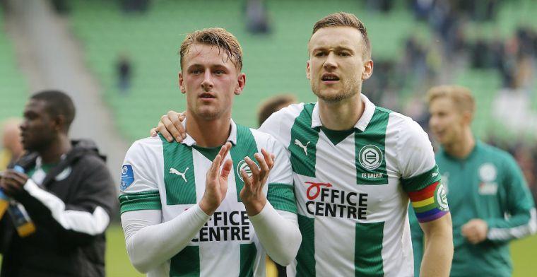 'Verdedigers verlaten Groningen transfervrij: Twente en Utrecht slaan toe'
