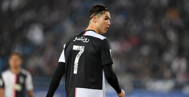 'UEFA koos voor opvallende formatie om ruimte te maken voor Cristiano Ronaldo'
