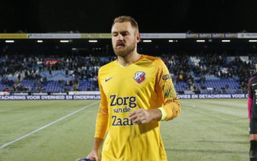 Afbeelding: Zoet: 'Het is klote dat je bij je debuut voor FC Utrecht drie goals tegenkrijgt'