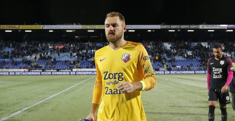 Zoet: 'Het is klote dat je bij je debuut voor FC Utrecht drie goals tegenkrijgt'