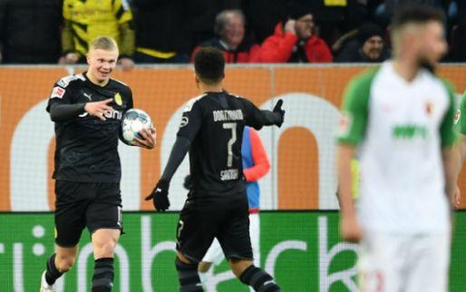 Haaland met hattrick bij Dortmund-debuut, Dost heeft eerste treffer 2020 te pakken