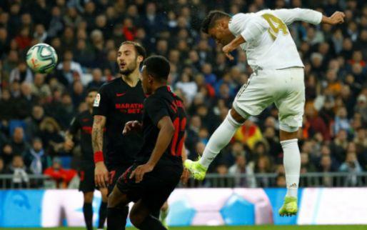 Afbeelding: Courtois moet zich één maal gewonnen geven, maar Real wint wel van Sevilla