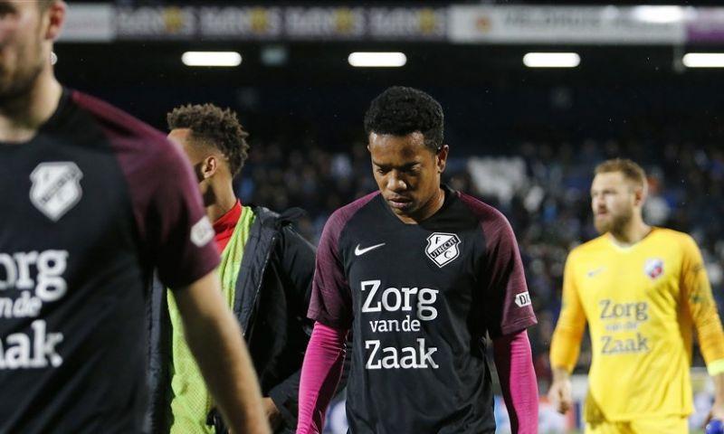 Afbeelding: Emanuelson overweegt Utrecht-vertrek: 'Baal dat ik er dan nog niet in sta'