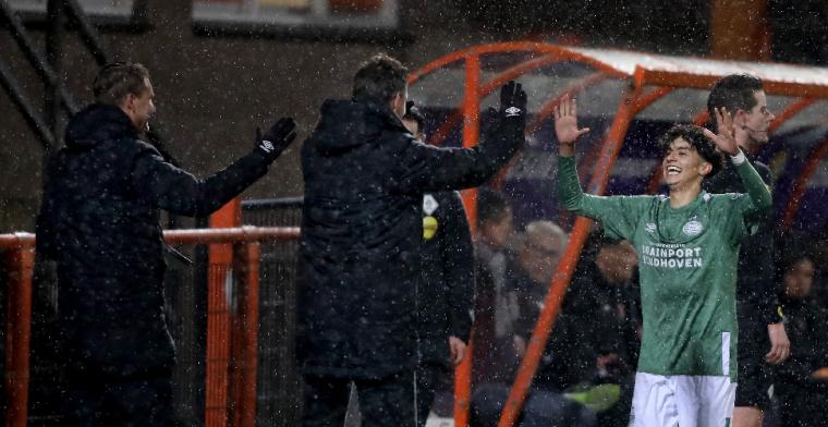 'De spelers van het eerste van PSV hebben me veel vertrouwen gegeven'