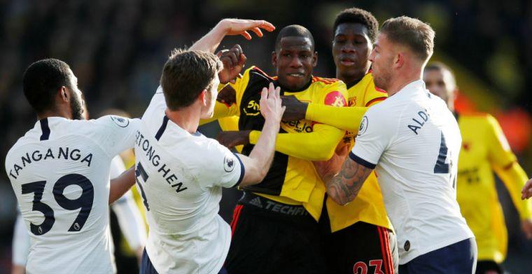 Spurs komt goed weg tegen Watford, maar verliest punten in Champions League-strijd