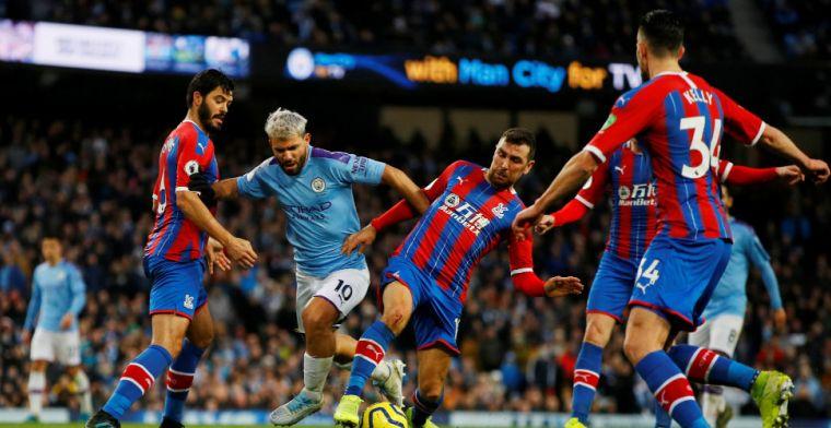 City morst punten in titelstrijd na spectaculaire slotfase tegen Crystal Palace