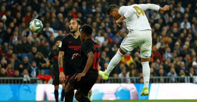 De Jong en Sevilla hebben pech met VAR: Casemiro grote man bij Real Madrid