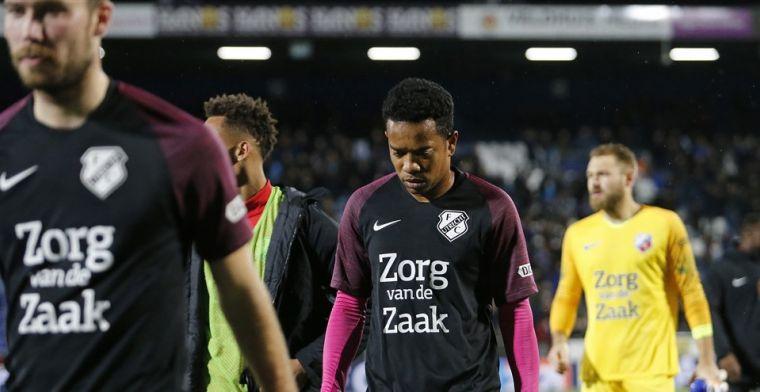 Emanuelson overweegt Utrecht-vertrek: 'Baal dat ik er dan nog niet in sta'