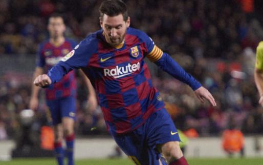 Afbeelding: Barcelona komt weer op gelijke hoogte met Real na moeizame overwinning