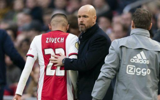 Ajax worstelt zich naar eerste competitiezege van 2020 en verliest Ziyech