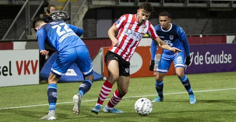 Update: Brentford-basisspeler Dervisoglu verwacht niet terug te keren bij Sparta