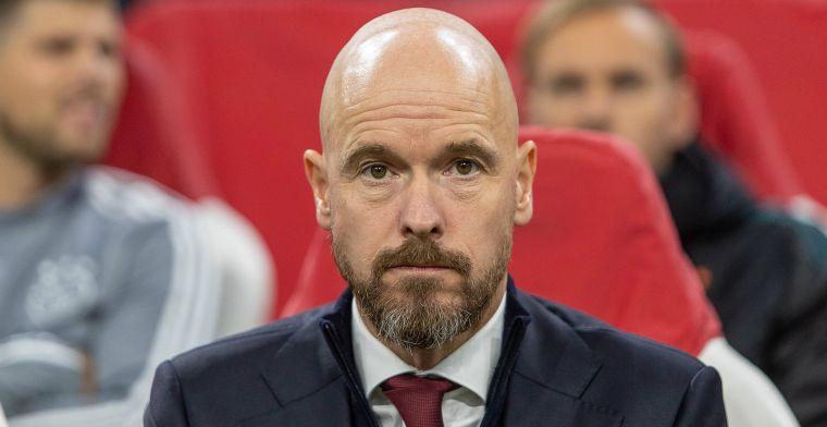 Ten Hag looft 'ongelooflijk talent': 'Ajax-fans vinden dat ook fantastisch mooi'